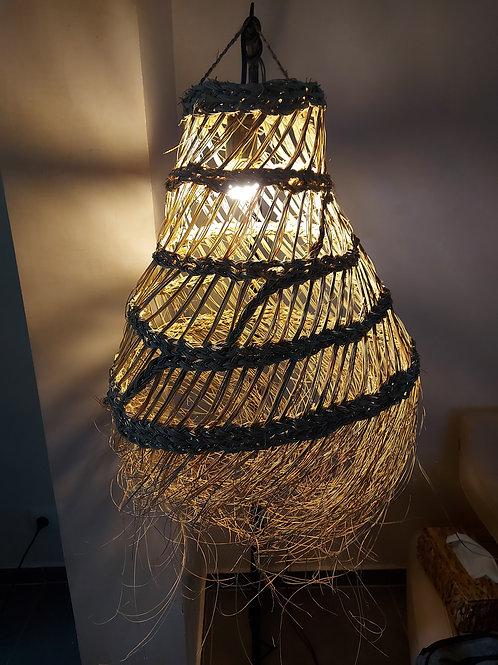 Luminaire en Osier