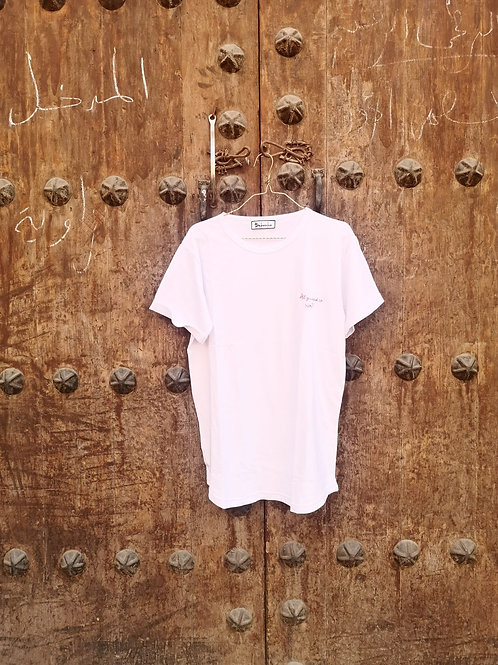 T-Shirt Femme Blanc - ALL YOU NEED IS LOVE
