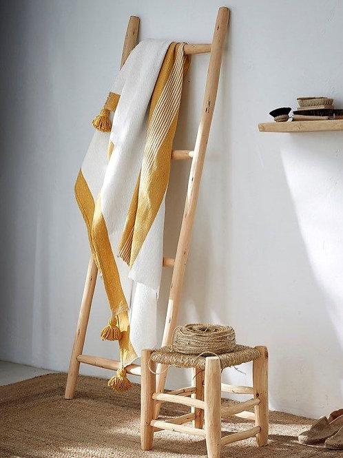 Echelle décorative 4 en Noyer - 152x42
