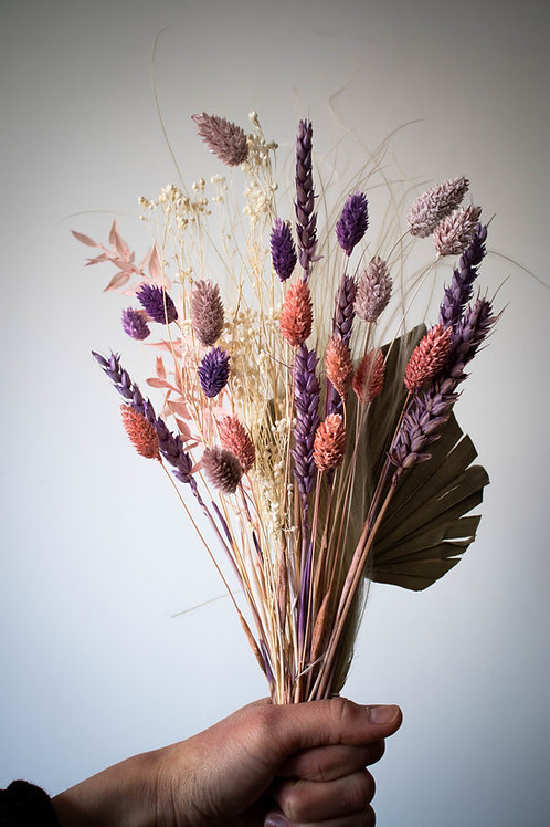 Pastel Dried Flower Letterbox Flowers