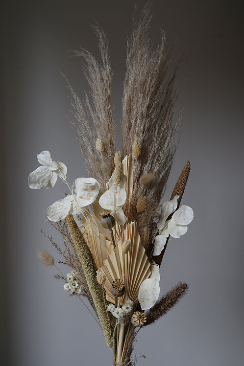 Dried Flower Bouquet - Natural Large