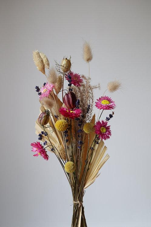 Pink Rodanthe Daisy Dried Bouquet