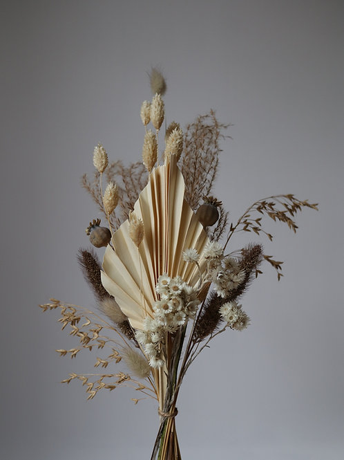 Dried Flower Bouquet  - Natural Small