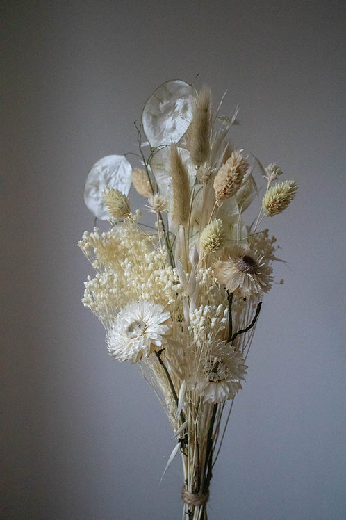 Mini Bleached and Dried Flower Bunch