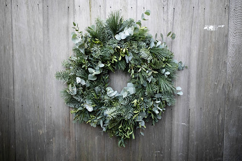 Festive Foliages Wreath