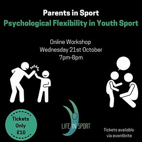 Parents in Sport Psychological Flexibili