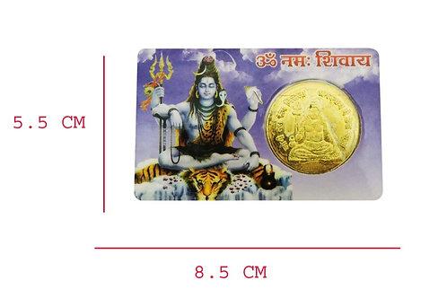 Om Namah Shivay Wallet Shiva Yantra Coin