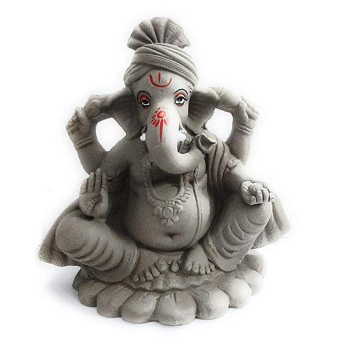 ECO Friendly Ganesh | Handcrafted Eco Friendly Ganesha Statue Mud/Clay