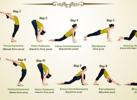 How To Do Surya Namaskar: The 12 Poses