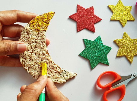 Ramadan and some tips for getting the kids crafting this Eid!