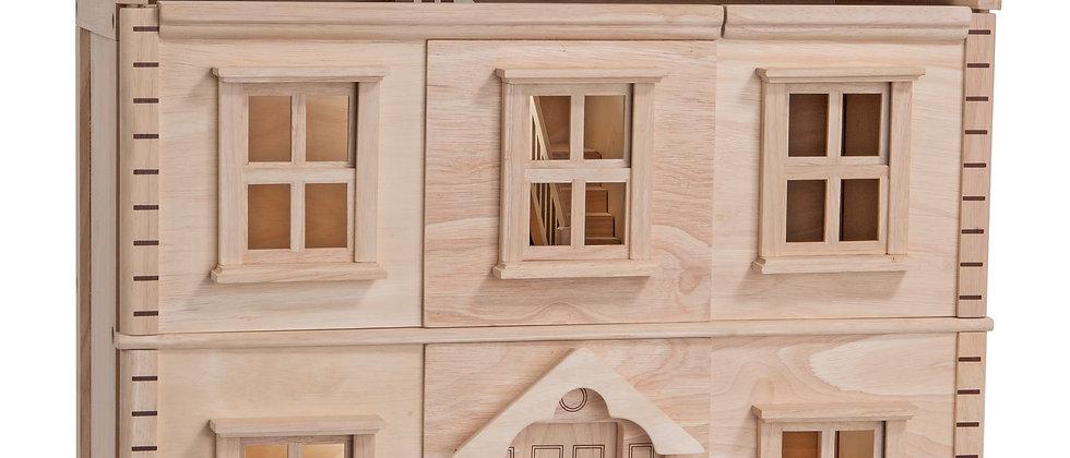 PlanToys Wooden Victorian Dollhouse