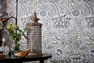 Bacarella Fabrics Wallpaper