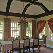 Colts Neck Retreat Dining Room Drapes