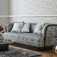 Bacarella Fabrics, Couch Cover & Wallpaper