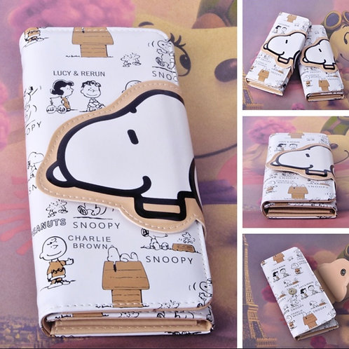 SNOOPY LEATHER WALLET