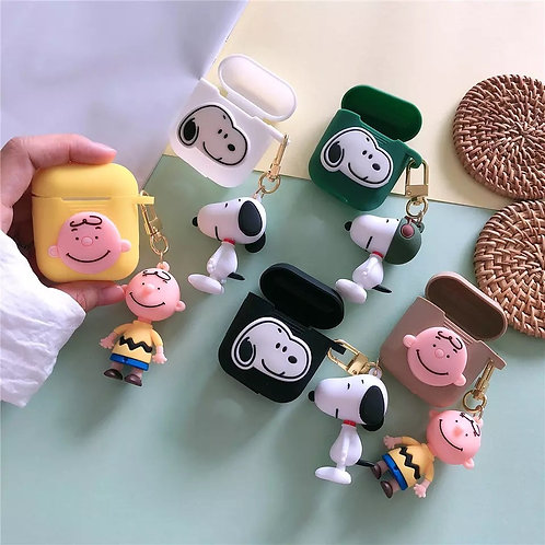 AIRPODS SNOOPY CASE