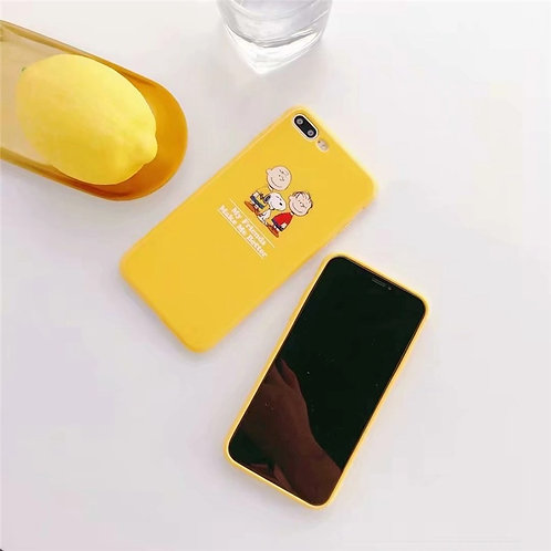 YELLOW SNOOPY CASE