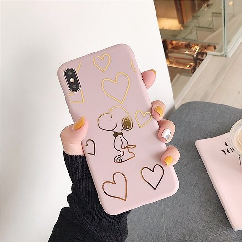 PINK SNOOPY CASE