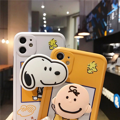 SNOOPY POP SOCKET CASE