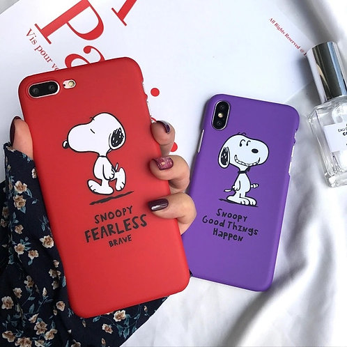 FEARLESS SNOOPY CASE