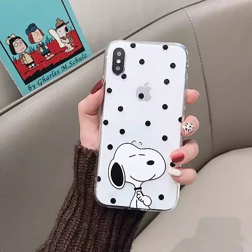 SNOOPY DOTS CASE
