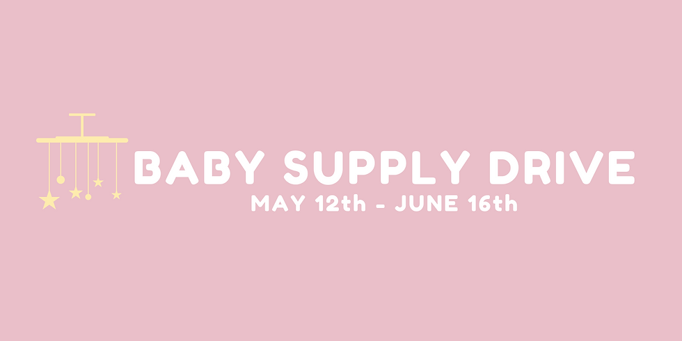 Baby Supply Drive