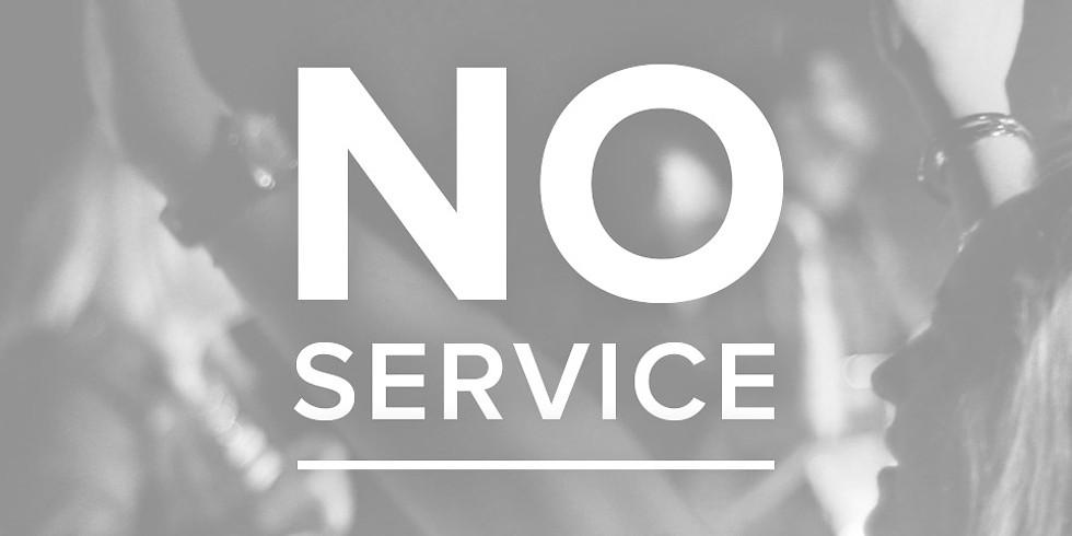 No Wednesday Evening Ministries