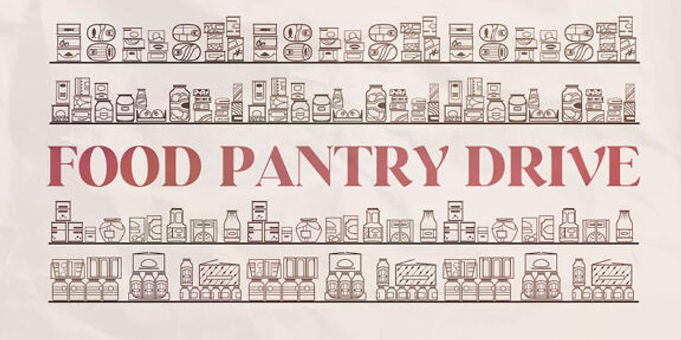 October: Food Pantry Drive