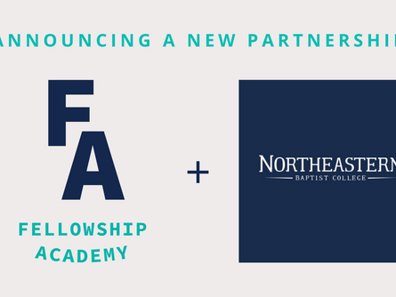 Making Disciples of the Next Generation: Fellowship Academy Establishes New Partnership