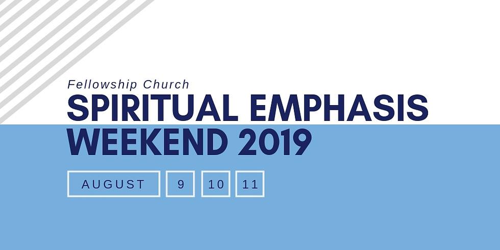 Spiritual Emphasis Weekend