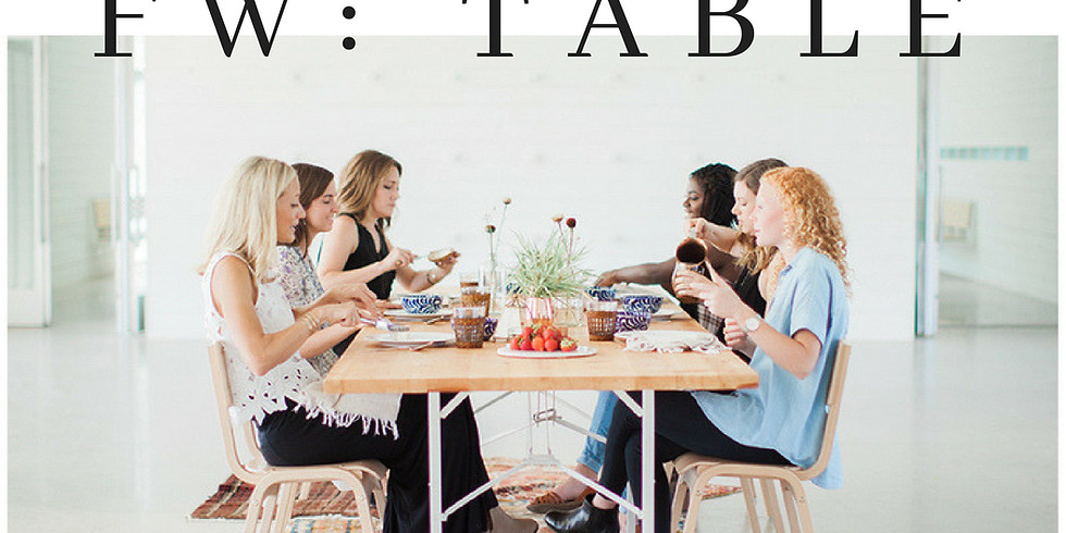 Fellowship Women: Table