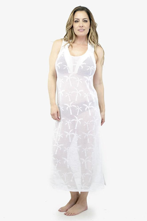 Robe longue couvre maillot