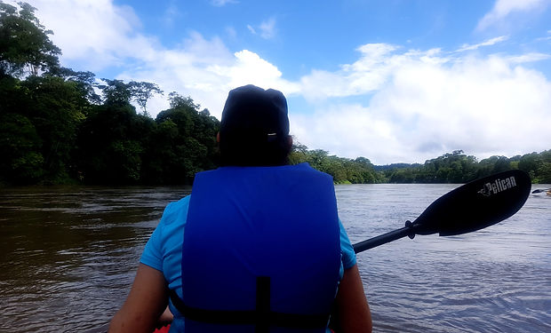 tour by canoe Costa Rica