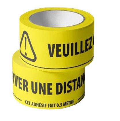 Rouleau d'adhésif PVC
