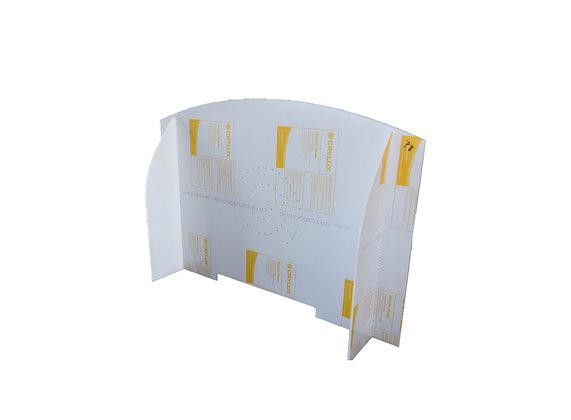 Ecran de protection translucide