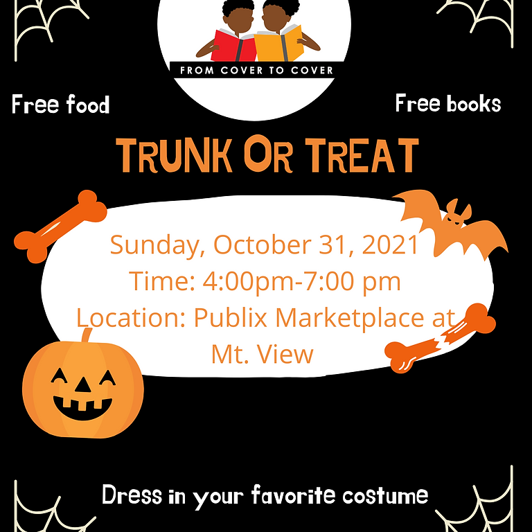 From Cover to Cover Literacy Foundation's Trunk or Treat