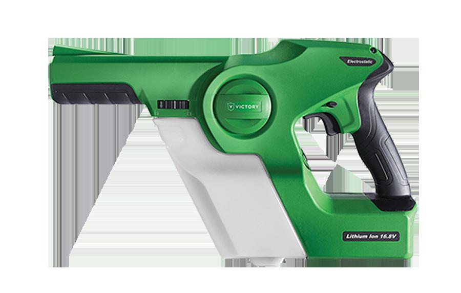 Pistola deaspersion electroestatica