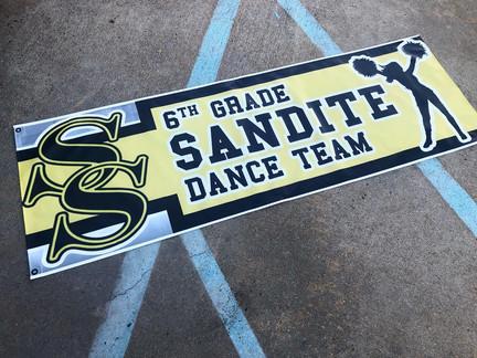 Sandite Dance Team Banner