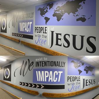 Angus Church Wall Decal