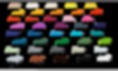 Schriften aus Acryl 8mm farbig