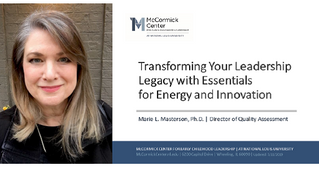 Presenting at Leadership Connections 2019
