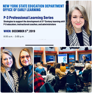 New York State P-3 Professional Learning Series Features Serious Fun