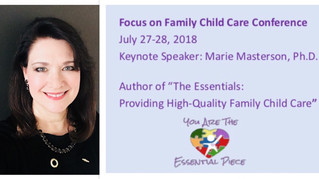 Keynote Launch of The Essentials: Providing High-Quality Family Child Care