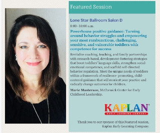 Marie Masterson Featured at NAEYC PDI