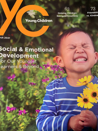 NAEYC Young Children Features Marie Masterson Article on Fostering Responsiblity in Children