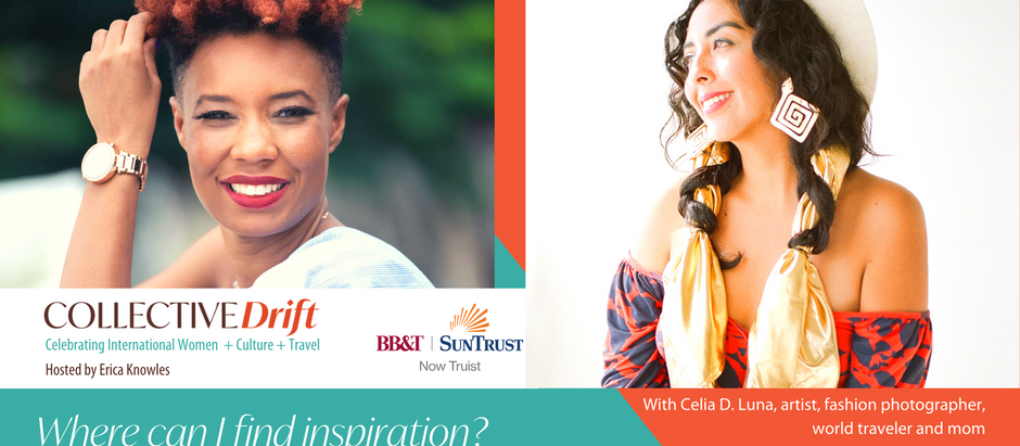 (ep 14)  Where can I find inspiration? With fashion and culture photographer Celia D. Luna