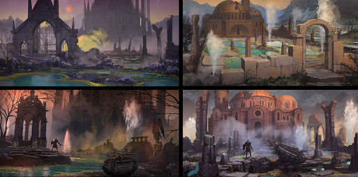 FOR HONOR - PRE-PRODUCTION - Cathedral Concept art