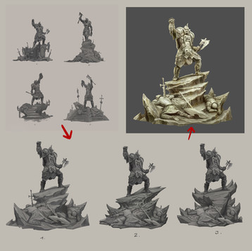 SHADOW OF WAR - Orc Monument