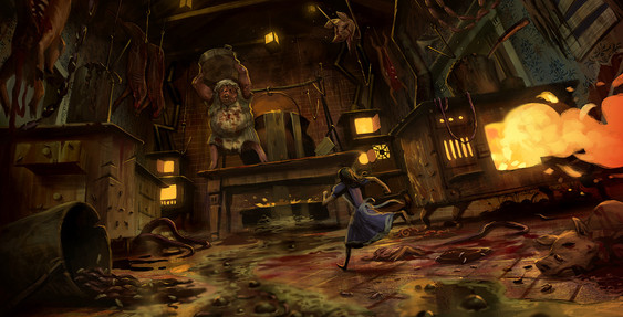 ALICE: MADNESS RETURNS CONCEPT ART