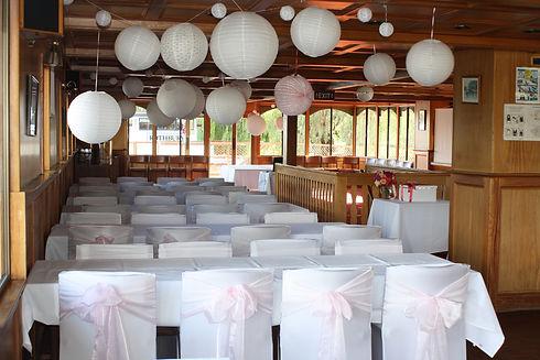 Mundoo Wedding light pink and lanterns.j